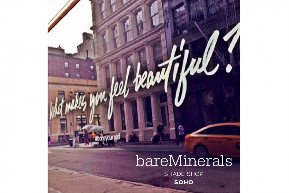 Bare Minerals Opens Shade Shop