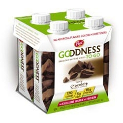 Post Enters Beverage Category with Goodness-To-Go Breakfast Shakes
