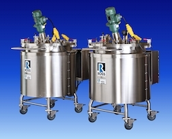 Ross Offers Agitated Vessels with Silicone Heating Blanket