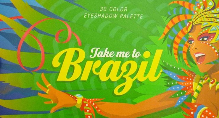 brazil BH Cosmetics SWATCHES