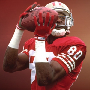Lysol Signs Jerry Rice