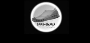 Pocket sprung shoe uses needlepunch nonwovens