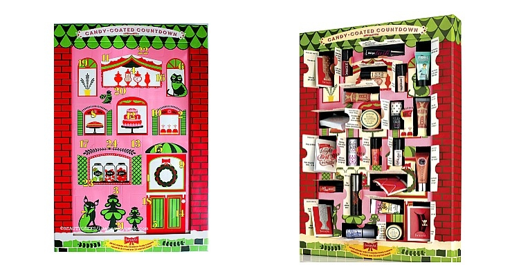 Benefit Launches A Christmas Calendar Beauty Packaging