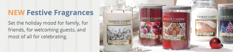 Yankee Candle Adds Holiday Fragrances