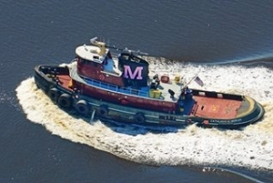PPG Distributor Donates Pink Tugboat Paint to Increase Breast Cancer Awareness