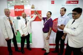 Nilpeter showcases gravure, extended gamut at Labelexpo India