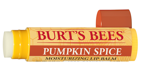 Pumpkin Spice New at Burt's Bees