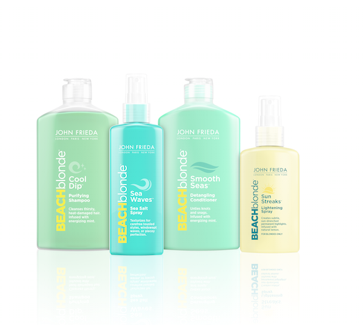Beach Blonde Back at John Frieda
