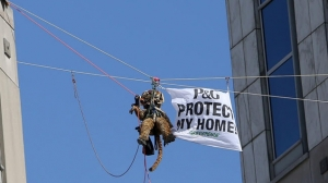 Greenpeace Reaches Plea Bargain