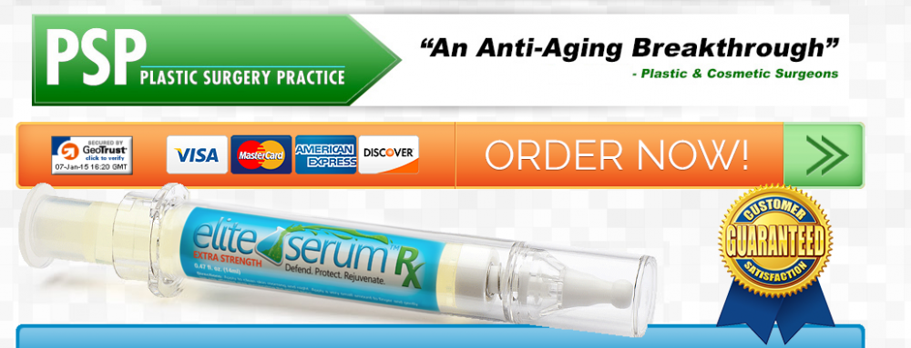 Elite Serum Rx Is Pharmacist Certified