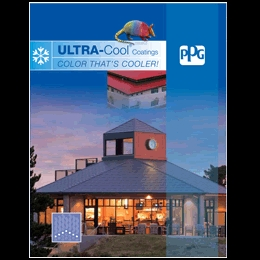 PPG publishes ULTRA-Cool coatings brochure