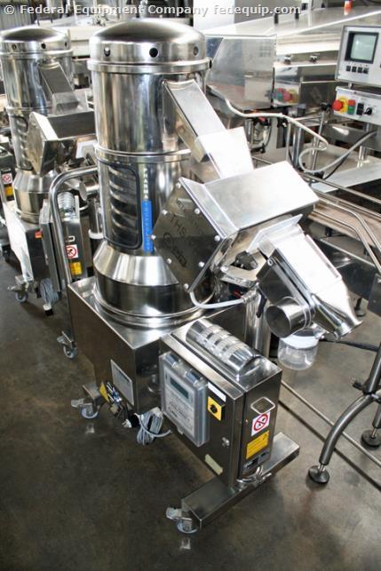 Pharmatech De-Duster Metal Detector Combination Unit, Model Combi-500CE