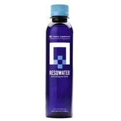 Study Finds RESQWATER Prevents Hangover Symptoms
