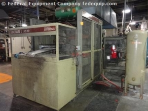 Brown In-Line Thermoforming System, Model C3030