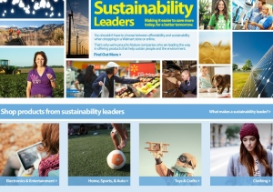 Walmart Opens Sustainability Leaders Shop