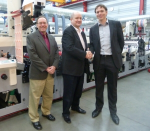 Bizerba USA purchases MPS EF flexo press