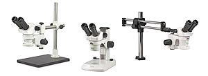 New SX25 Stereo Zoom Microscopes