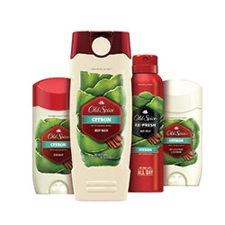 Timber, Amber and Citron New from Old Spice