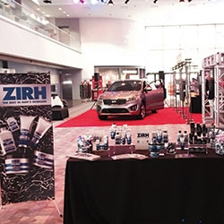 Zirh's luxury lounge is a hit at Super Bowl XLIX