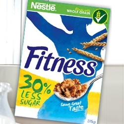 Nestlé Introduces Reformulated Fitness Cereal in Europe