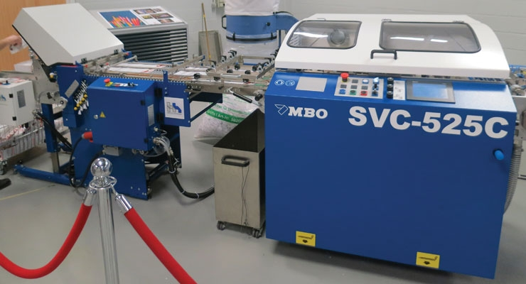 MBO's finishing equipment