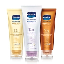 New Vaseline Intensive Care Healing Serum