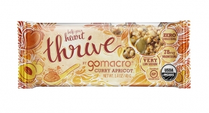 GoMacro Unveils Thrive Line of Nutrition Bars