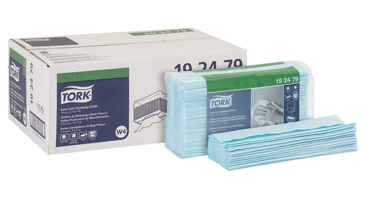 Tork Launches Low-Lint Cleaning Cloth In North America