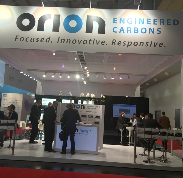 Scenes from the European Coatings Show