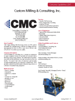 Custom Milling and Consulting, Inc.