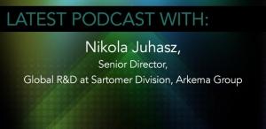 Nikola Juhasz, Senior Director, Global R&D at Sartomer Division, Arkema Group