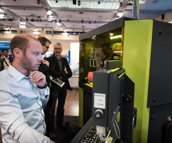 Scenes from Printed Electronics Europe 2015