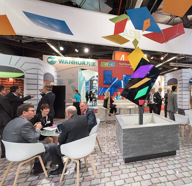 Scenes from the 2015 European Coatings Show