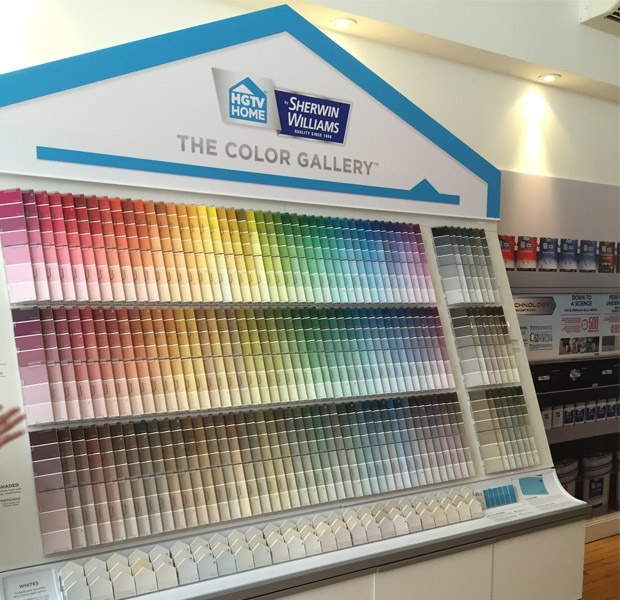 The Hgtv Home By Sherwin Williams Product Line Features A New And Improved Interior Exterior Paint Program Available At Both Company