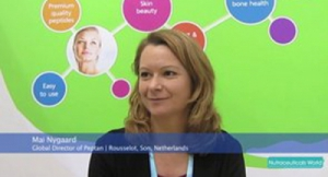 Rousselot's Mai Nygaard Discusses Collagen's Role in Skin Health at Vitafoods Europe