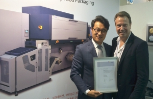 Durst honors South Korean sales and service partner