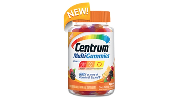 Pfizer Launches Centrum MultiGummies