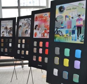 AkzoNobel Color Design Center Tour in NYC