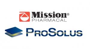 Mission Pharmacal Acquires ProSolus Pharmaceuticals