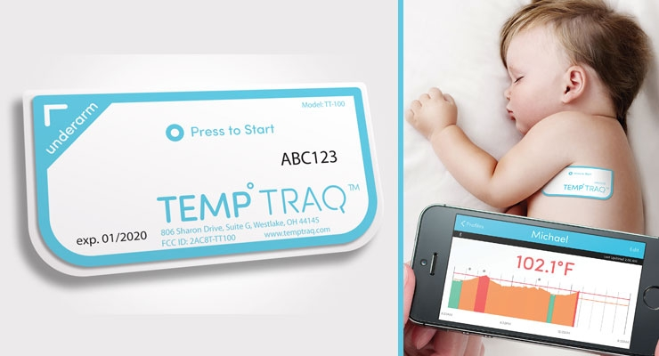 TempTraq Merges Printed Electronics with Wireless Temperature Readings for Patients