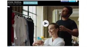 John Frieda Recruits Celebrity Stylist & Actress for Demo