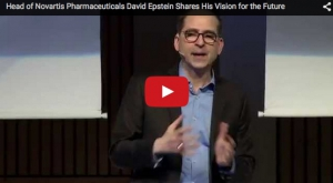 Head of Novartis Pharmaceuticals David Epstein Shares His Vision for the Future