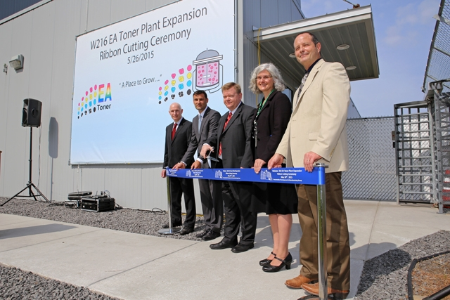 Xerox Opens $35 Million Toner Plant Expansion in Webster, NY
