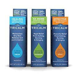 Cosmederm Expands TriCalm Line