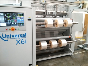 Watershed Packaging installs Universal X6 slitting machine