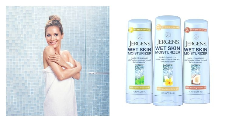 Jergens Launches Wet Skin Moisturizer With Actress Leslie Mann