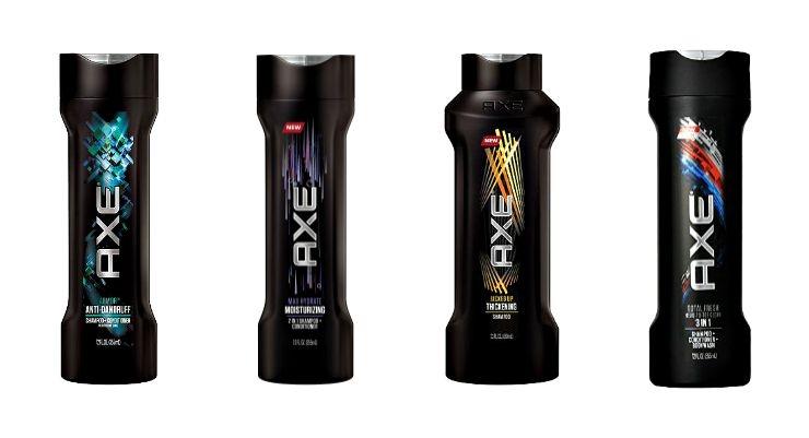 AXE Promotes Shampoo for Men