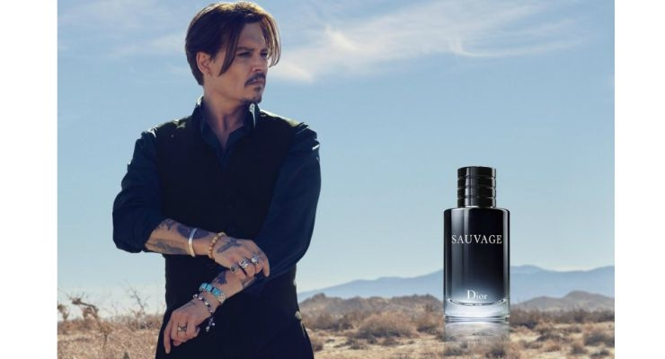 Johnny Depp is the Face of Dior