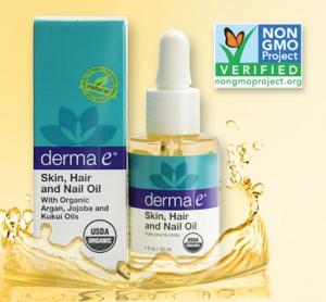 Derma E Earns Non-GMO Project Verification