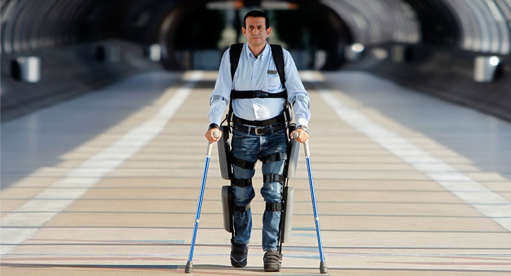 The Human Exoskeleton